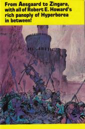 Verso de Official handbook of the Conan Universe (1986) -1- The official handbook of the Conan Universe