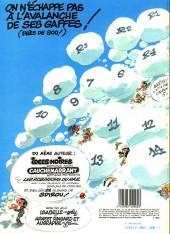 Verso de Gaston -12a1983a- Le gang des gaffeurs