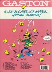 Verso de Gaston -13b1991- Lagaffe mérite des baffes
