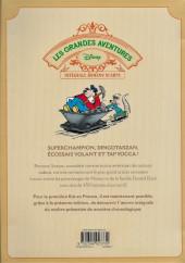 Verso de Les grandes aventures Disney de Romano Scarpa -2- Mickey et le Mystère de Tap Yocca VI et autres histoires (1956-1957)