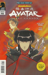 Verso de Free Comic Book Day 2013 - Star Wars / Avatar, the Last Airbender