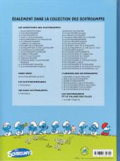 Verso de Les schtroumpfs -36- Les Schtroumpfs et le dragon du lac