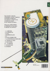 Verso de Largo Winch -11a03- Golden Gate