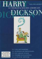 Verso de Harry Dickson (Nolane/Roman) -1HC- L'ile des possédés
