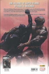Verso de Black Panther (Marvel Deluxe) -1- Qui est la Panthère Noire ?