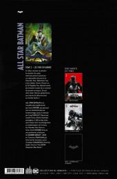Verso de All Star Batman -2- Les Fins du monde
