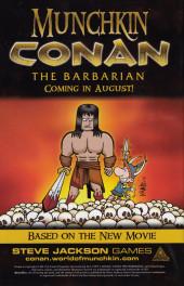 Verso de Conan: Island of no return (2011) -1- Conan: Island of no return #1
