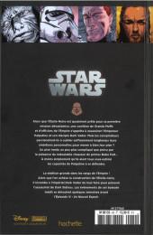 Verso de Star Wars - Légendes - La Collection (Hachette) -60XI- Le Coté Obscur - XI. Dark Vador - Trahison