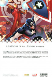 Verso de Captain America : Steve Rogers -1- Heil Hydra