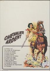 Verso de Chevalier Ardent -1a1981- Le prince noir