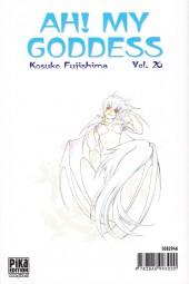 Verso de Ah! My Goddess -26- Tome 26