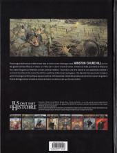 Verso de Ils ont fait l'Histoire -26- Churchill - Tome 1/2