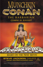 Verso de Conan: Road of Kings (2010) -8- Conan: Road of Kings #8