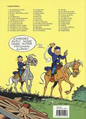 Verso de Les tuniques Bleues -28a1997- Les bleus de la balle
