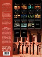 Verso de L'histoire secrète -2a2007- Le château des djinns