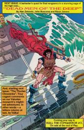 Verso de Kull the Conqueror Vol.3 (Marvel comics - 1983) -2- The amulet of Ka