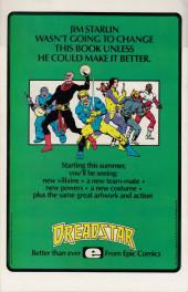 Verso de Kull the Conqueror Vol.3 (Marvel comics - 1983) -6- Goblin moon