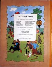 Verso de Tintin (Historique) -13B20bis- Les 7 boules de cristal