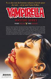 Verso de Vampirella Masters Series -3- Mark Millar Mike Mayhew