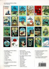 Verso de Tintin -3- Tintin en Amérique