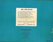 Verso de Sylvain et Sylvette (01-série : albums Fleurette) -7- Tel est pris qui croyait prendre