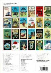 Verso de Tintin -7- L'île noire