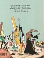 Verso de Les contes du Marylène -3- Boris l'enfant patate