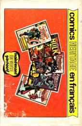 Verso de Fantastic Four (Éditions Héritage) -5- ...en ce monde torturé !