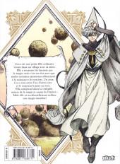 Verso de L'atelier des sorciers -1- Volume 1