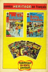 Verso de Fantastic Four (Éditions Héritage) -8- La