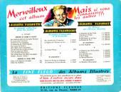 Verso de Sylvain et Sylvette (01-série : albums Fleurette) -8a54- Vers le pays de soleil