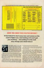 Verso de Daredevil (1964) -108- Cry beetle