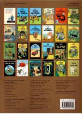 Verso de Tintin -24- Tintin et l'alph-art