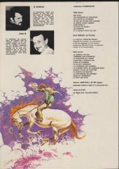 Verso de Comanche -9a1982- Et le diable hurla de joie...
