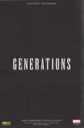 Verso de Marvel Generations -1TL- 1/4