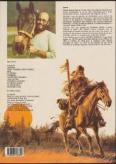 Verso de Buddy Longway -7a84- L'hiver des chevaux