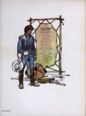 Verso de Blueberry -7a83- Le cheval de fer
