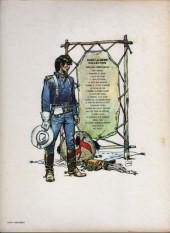 Verso de Blueberry -11c1984- La mine de l'Allemand perdu