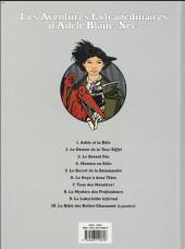 Verso de Adèle Blanc-Sec (Les Aventures Extraordinaires d') -4f18- Momies en folie