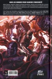 Verso de Ninjak -5- Les Sept Lames de Maître Darque