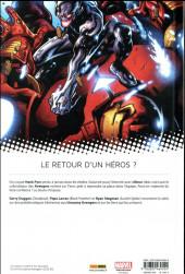 Verso de All-New Uncanny Avengers -2- L'homme tombé du ciel