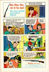 Verso de Movie Classics (Dell - 1962) -748- The Sons of Katie Elder