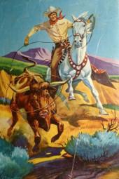 Verso de Four Color Comics (1942) -299- Buck Jones and the Iron Horse Trail