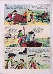 Verso de Four Color Comics (Dell - 1942) -624- Walt Disney's Treasure Island