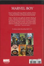 Verso de Marvel Comics : Le meilleur des Super-Héros - La collection (Hachette) -56- Marvel Boy