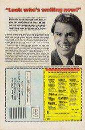 Verso de Astonishing tales Vol.1 (Marvel - 1970) -32- Slaughter in the Subway!