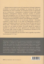 Verso de Tintin - Divers -a- Tintin, bibliographie d'un mythe