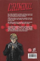 Verso de Criminal -7- Au mauvais endroit...