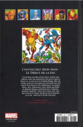 Verso de Marvel Comics - La collection (Hachette) -106XV- L'Invincible Iron Man - Le Début de la Fin