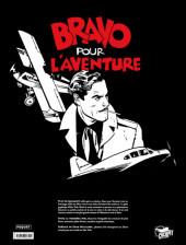 Verso de Bravo pour l'aventure -INT TL- Bravo pour l'aventure (Intégrale N&B)